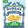 Bubba's Fine Foods, Банановые чипсы с чесноком, 2,7 унций (77 г)