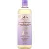 Babo Botanicals, 3-в-1 успокаивающий шампунь, пена для ванны и гель для душа с расслабляющим ароматом лаванды и таволги, 400 мл