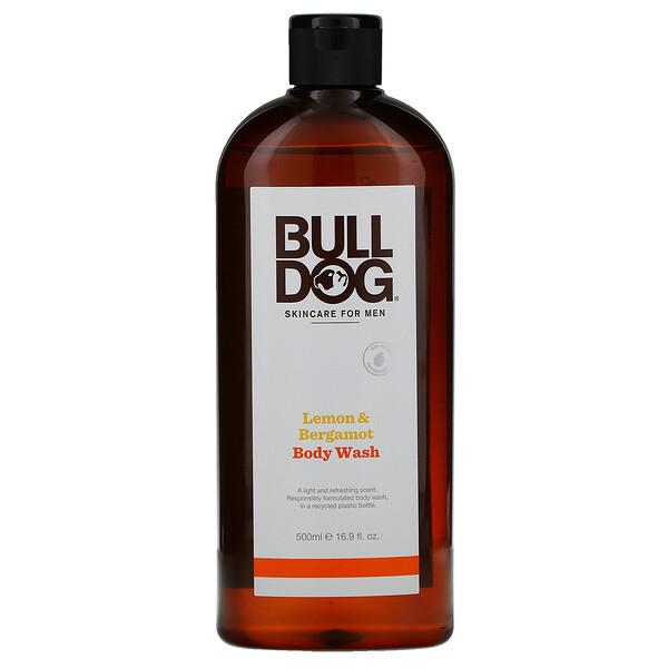 Body Wash, Lemon & Bergamot, 16.9 fl oz (500 ml)