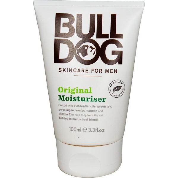 Bulldog Skincare For Men, Увлажняющий крем, оригинальный, 3,3 жидкие унции (100 млl) (Discontinued Item)