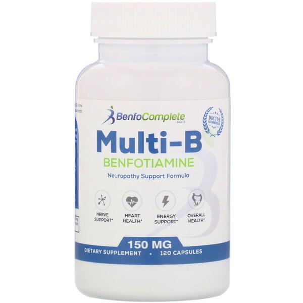 Поддерживающая формула Multi-B при нейропатии, 150 мг, 120 капсул