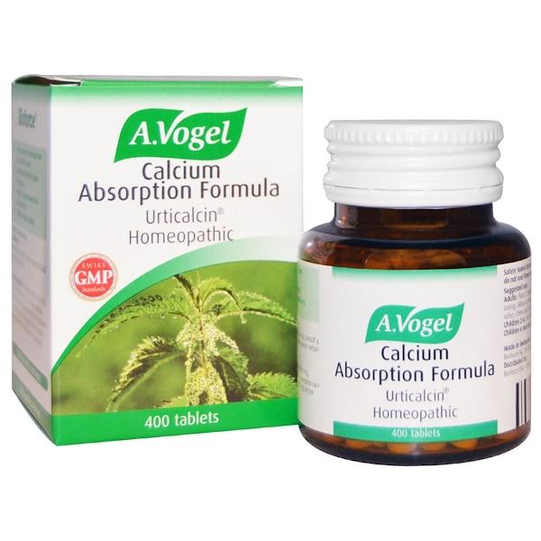 A Vogel, Формула усвоения кальция, артикальцин Натуральный, 400 таблеток (Discontinued Item)