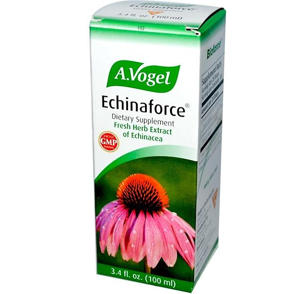 A Vogel, Echinaforce, свежий травяной экстракт эхинацеи, 100 мл (3,4 жидких унций) (Discontinued Item)