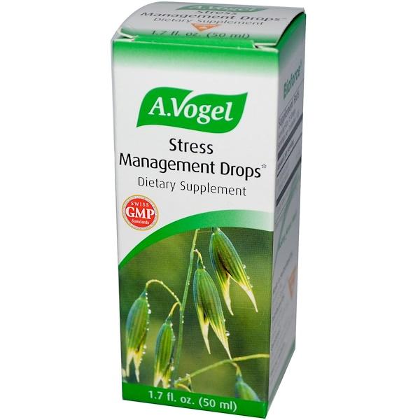 A Vogel, Stress Management Drops, 1.7 fl oz (50ml) (Discontinued Item)