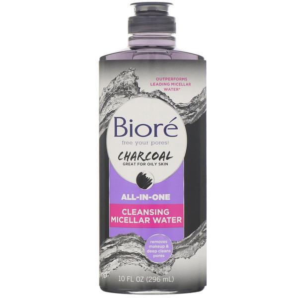 Biore, Универсальная очищающая мицеллярная вода с углем, 296мл (Discontinued Item)
