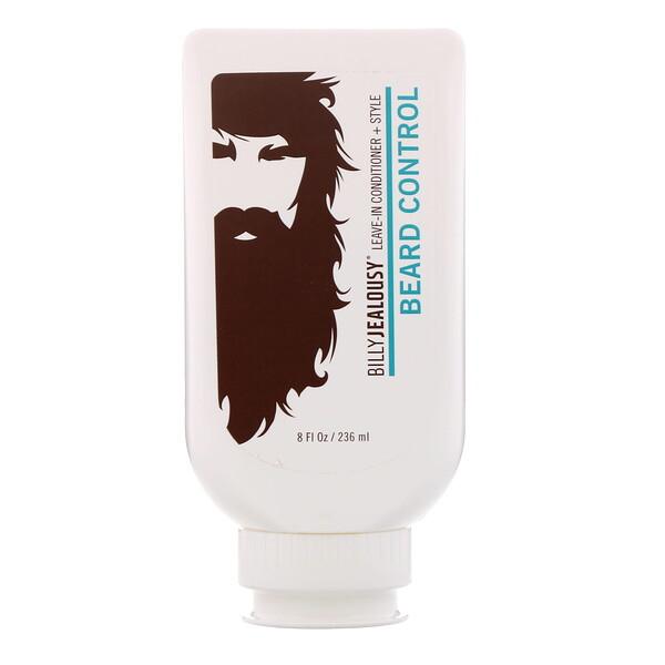 Billy Jealousy, Несмываемый кондиционер для укладки бороды, 236мл