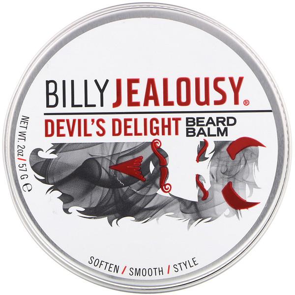 Billy Jealousy, Бальзам для бороды «Дьявольское очарование», 57г