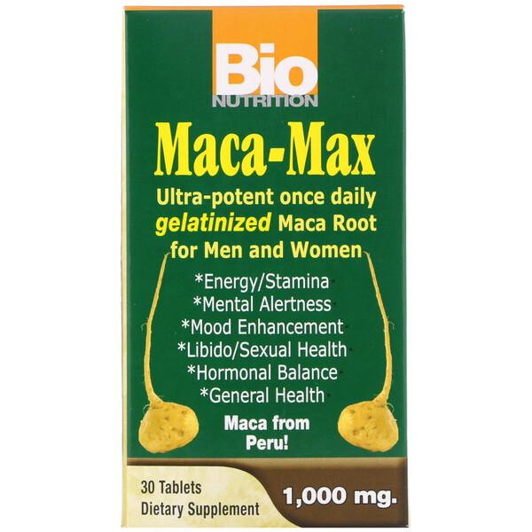 Maca Max, 1,000 мг, 30 таблеток
