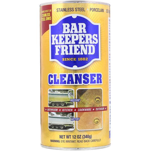 Bar Keepers Friend, Чистящее средство, 340г (Discontinued Item)