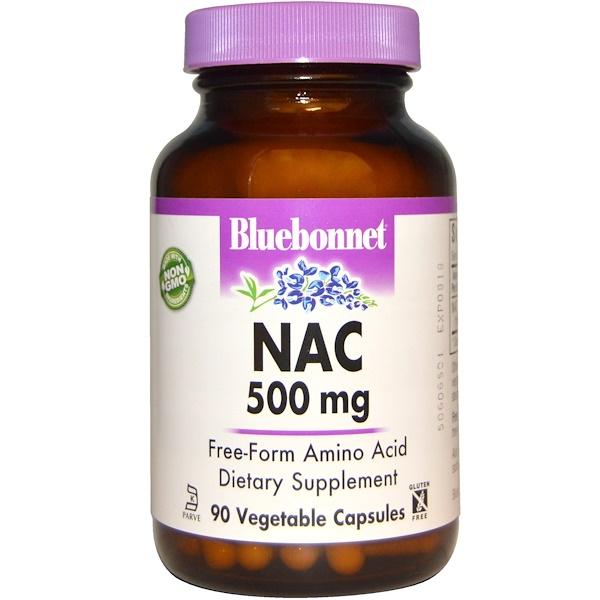 NAC, 500 мг, 90 растительных капсул
