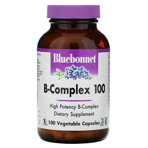 B-Complex 100, 100 Vegetable Capsules