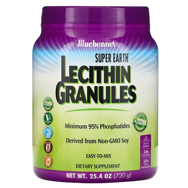 Bluebonnet Nutrition, Super Earth, лецитин в гранулах, 720 г (1,6 фунта)