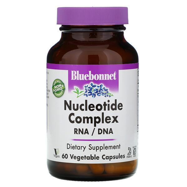 Комплекс нуклеотидов, РНК/ДНК, 60 капсул на растительной основе
