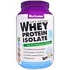 Bluebonnet Nutrition, 100 % натуральный изолят сывороточного белка, с натуральным оригинальным вкусом, 924 г (2 фунта)