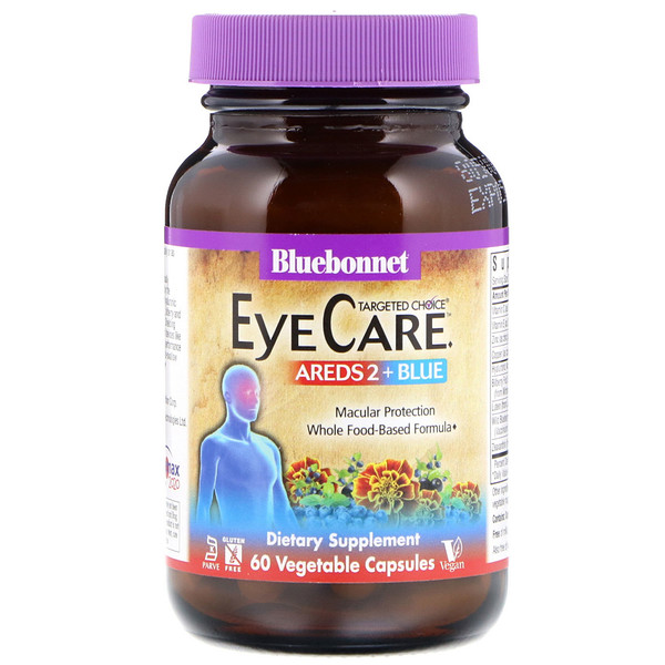 Targeted Choice, Eye Care, 60 Vegetable Capsules
