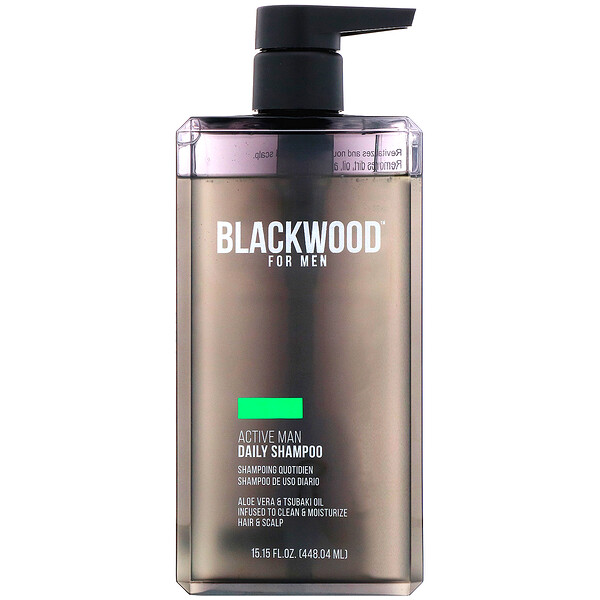 Blackwood For Men, Мужской шампунь для ежедневного использования Active Man, 448,04мл
