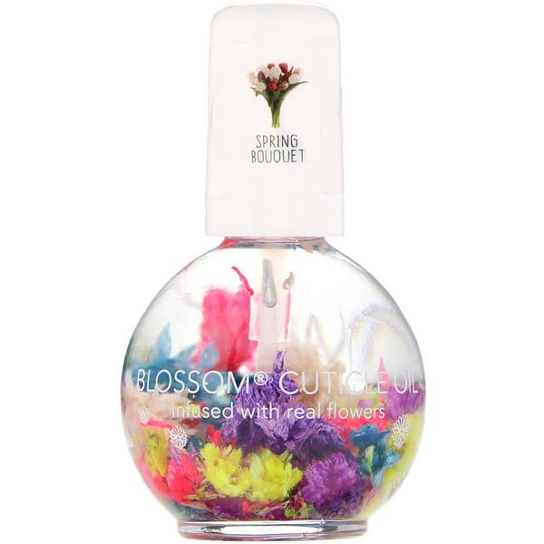 Blossom, Масло для кутикулы, весенний букет, 12,5мл