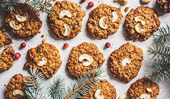 4 рецепта веганского печенья с суперпродуктами
