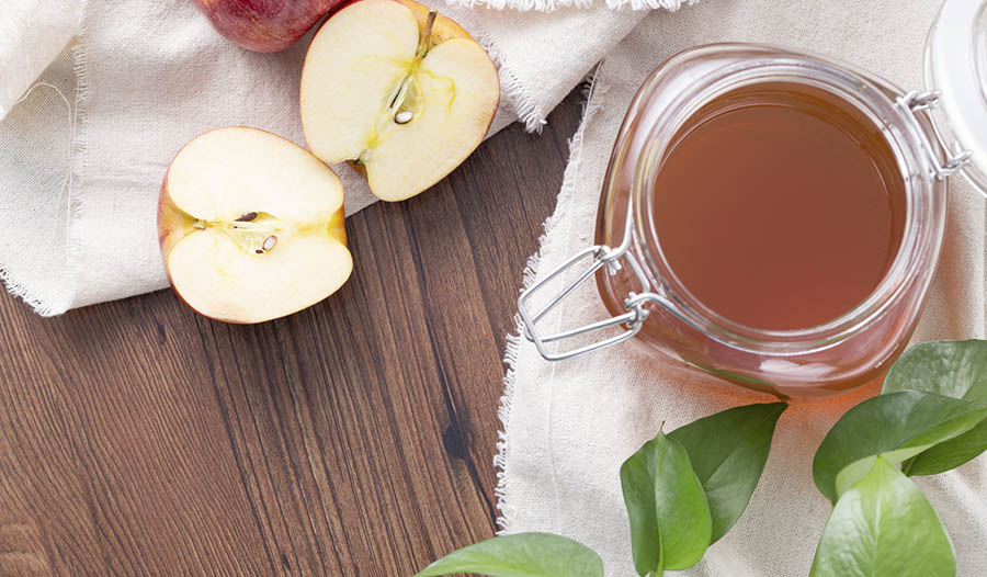 Apple Cider Vinegar Scalp Scrub