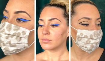 Три смелых макияжа для глаз, которые отлично смотрятся с маской