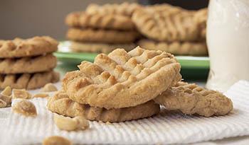 Белковое печенье с миндальным маслом от компании California Gold Nutrition
