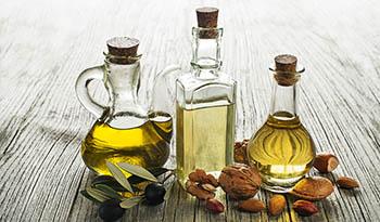 Различные типы масел для приготовления пищи