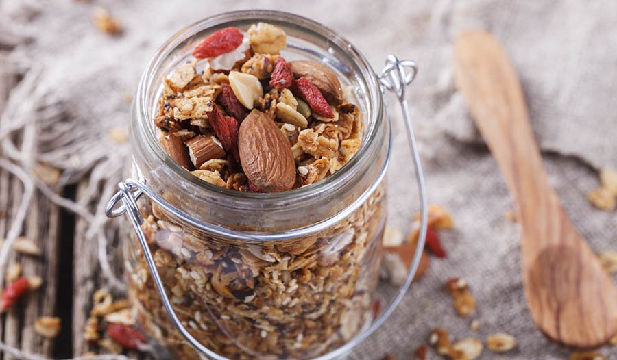 Gluten Free Granola Recipe that's Packed with Nutritional Value