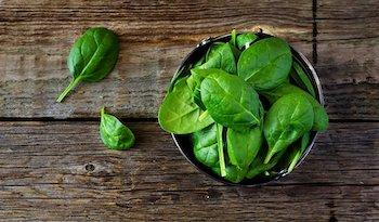 Зеленые листовые овощи и похудение