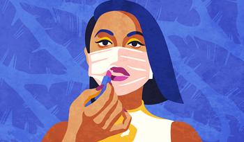 Как сделать так, чтобы ваш макияж сохранялся при использовании защитной маски для лица