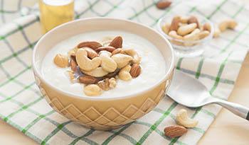Полезный и вкусный йогурт из орехов кешью без молока