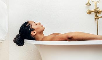О пользе минеральной ванны