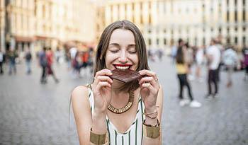 Множество полезных свойств шоколада + рецепт трюфелей