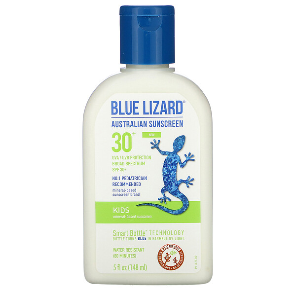 Kids, Mineral-Based Sunscreen, SPF 30+, 5 fl oz (148 ml)
