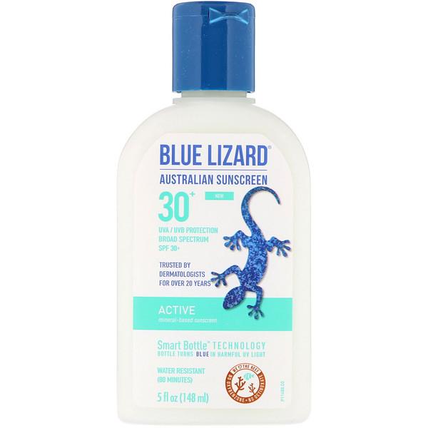 Active, Mineral-Based Sunscreen, SPF 30+, 5 fl oz (148 ml)