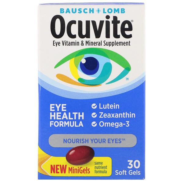 Формула здоровья глаз, 30 мягких желатиновых капсул
