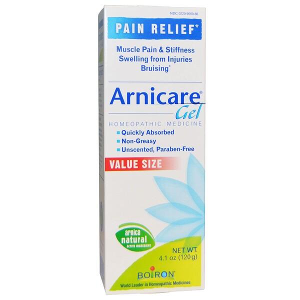 Arnicare Gel, облегчение боли, без запаха, 120 г (4,1 унции)