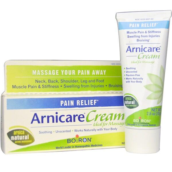 Крем Arnicare, избавление от боли, без запаха, 2,5 унций (70 г)