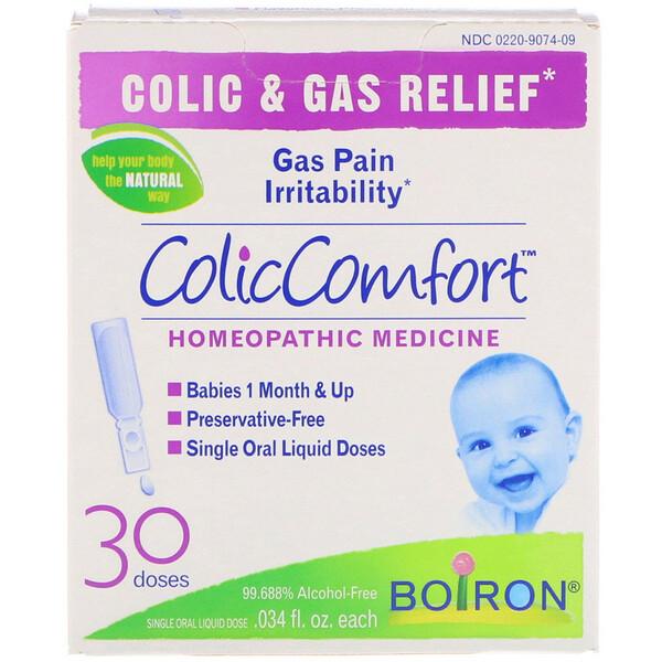 ColicComfort, облегчение колик и устранение газов, 30 доз, по 0,034 жидких унций каждая