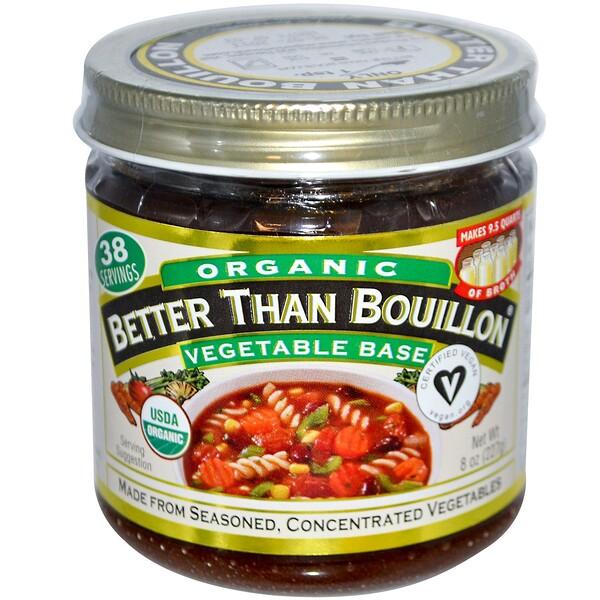 Better Than Bouillon, Органика, Растительный бульон, 8 унций (227 г) (Discontinued Item)
