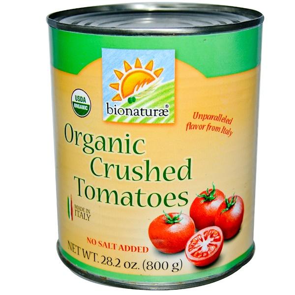 Bionaturae, Органические протертые томаты, без добавления соли, 28,2 унции (800 г) (Discontinued Item)