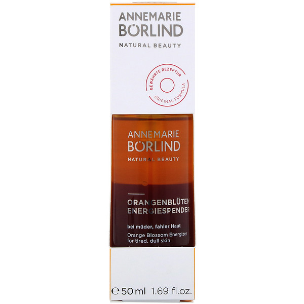 AnneMarie Borlind, Энергетик с ароматом цветов апельсина, 50мл