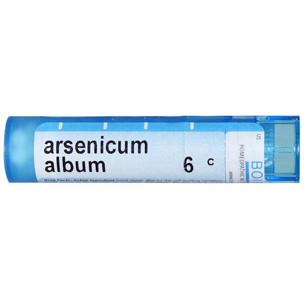 Boiron, Single Remedies, Арсеникум альбум, 6C, 80 гранул (Discontinued Item)