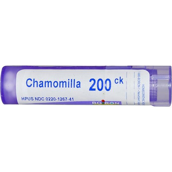 Boiron, Single Remedies, Ромашка, 200CK, прибл. 80 гранул (Discontinued Item)