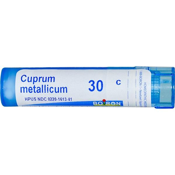 Boiron, Single Remedies, Купрум металликум, 30C, 80 гранул (Discontinued Item)