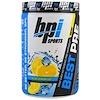 BPI Sports, Лучшее средство перед тренировкой, бета-гидроксибутират кетон и энергетическая формула, синий лимонный лед, 11,11 унций (315 г)