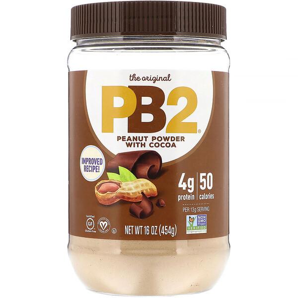 Арахисовое масло PB2 (сухой порошок) с шоколадом, 16 унций (453,6 г)