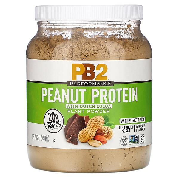 Peanut Protein with Dutch Cocoa, 32 oz (907 g)