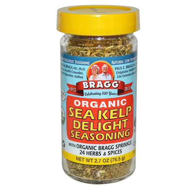 Bragg, Органическая приправа из морской капусты, 2.7 унций (76.5 г) (Discontinued Item)