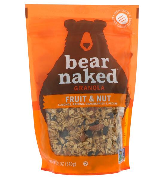 Bear Naked, На 100% чистая и природная гранола, фрукты и орехи, 12 унций (340 г)