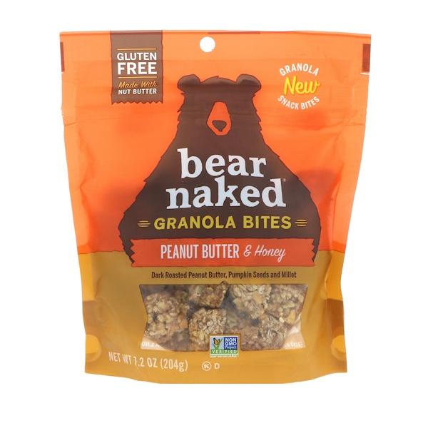 Bear Naked, Гранола, арахисовое масло и мед, 7,2 унц. (204 г)
